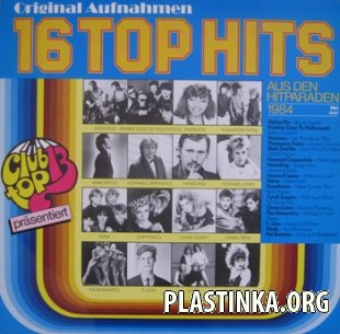 VARIOUS - 16 TOP HITS 1984 (Mai/Juni)