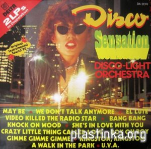 Disco-Light Orchestra - Disco Sensation (1980)