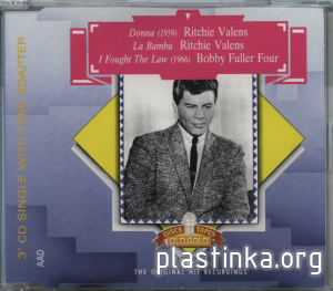 "Ritchie Valens ~ Bobby Fuller Four (MEGA RARE 3"" inch CD Single)"