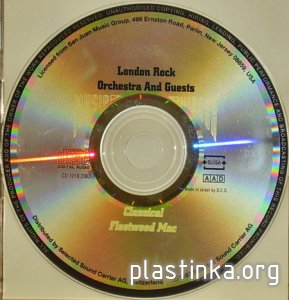 The London Rock Orchestra & Guests (1993) СD-AAD