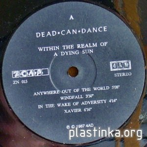 Dead can dance - Within the realm of a dying sun (1987)
