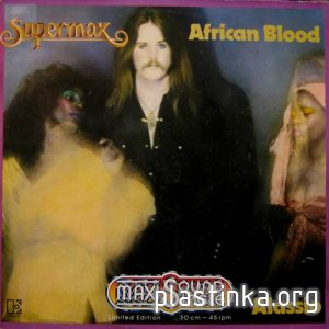 Supermax ‎- African Blood (Maxi-Single) (1979)
