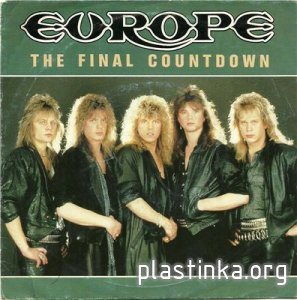 Europe - The Final Countdown (1986) [EP Single]