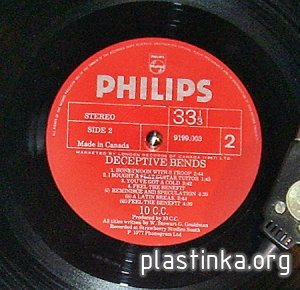 10сс-Deceptive Bends (1977),Vinyl-rip, Wav 32float/96,Wav 16/44 + mp3