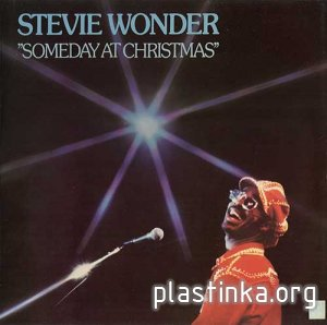 Stevie Wonder ‎- Someday At Christmas (1967) [Reissue 1976]