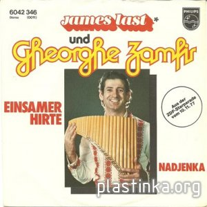 James Last und Gheorghe Zamfir - Einsamer Hirte (EP Single) 1977