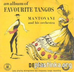 Mantovani & his Orchestra - An Album of Favourite Tangos (1953)