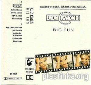 C. C. Catch - Big Fun (Рип с кассеты) 1988