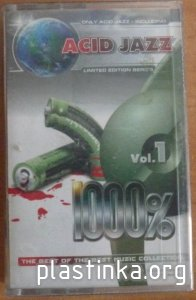 Acid Jazz 1000% Vol.1 (2003) Rip cassette tape