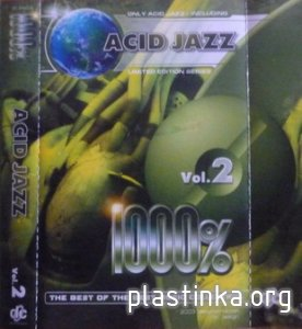 Acid Jazz 1000% Vol.2 (2003) Rip cassette tape