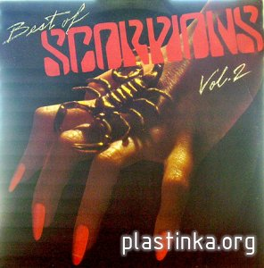 SCORPIONS - Best of Scorpions vol 2 (1984), vinyl-rip