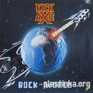 Kick Axe - Rock The World (1986)(Tape rip)