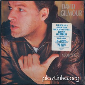 David Gilmour ‎- About Face (1984) [Original US Pressing]