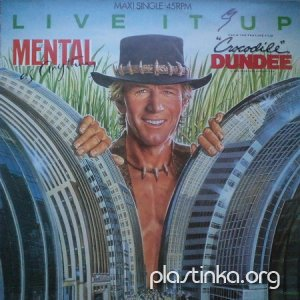 Mental As Anything - Live It Up (1987)Maxi Single'12