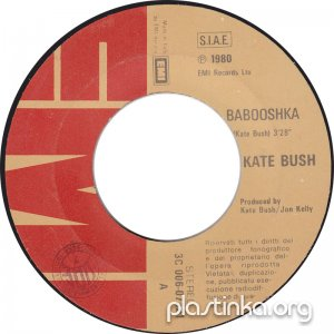 Kate Bush - Babooshka/Ran Tan Waltz (1980)