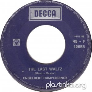 Engelbert Humperdinck - The Last Waltz/That Promise (1967)