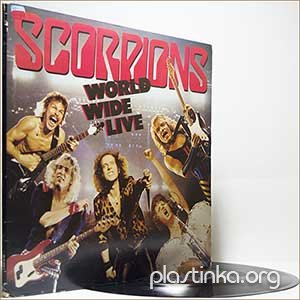 Scorpions - World Wide Live (1985) (2LP Live)
