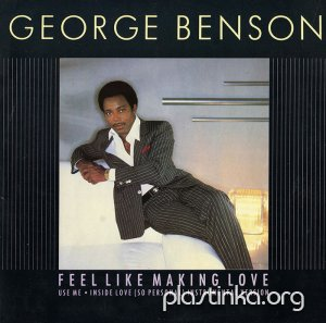 "George Benson - Feel Like Making Love (1983) 12"" 45 RPM Single"