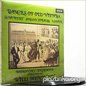 Schubert Strauss Lanner - Dances Of Old Vienna (1968) (Vinyl)