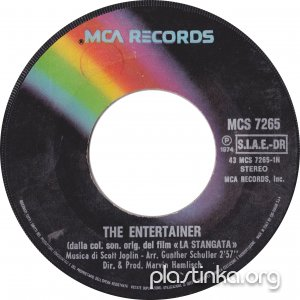 Marvin Hamlisch - The Entertainer, Solace (1974)