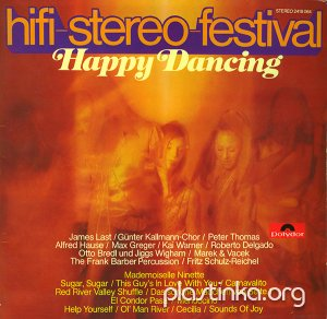 Various Artists - HiFi-Stereo Festival - Happy Dancing (1970)