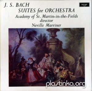 J.S.Bach - Suites For Orchestra (1971)