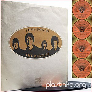 The Beatles - Love Songs (1977) (2xLP)